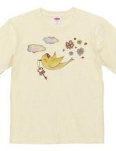 幸せの鍵を運ぶ黄色い小鳥