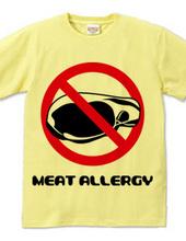 肉アレルギー