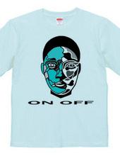 ON OFF Blue