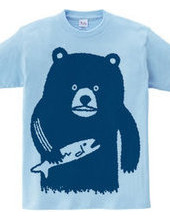 Bear hunting salmon(blue)
