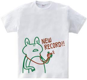 ニューレコード!!