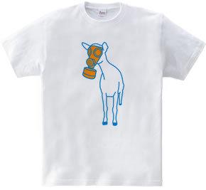 ガスマスク山羊