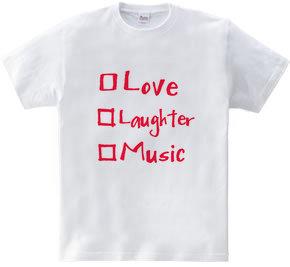愛と笑いと、音楽と(薔薇バージョン)。
