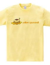 yellow spacecraft