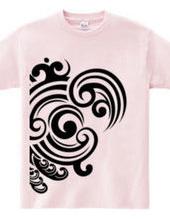 Japanese tribal pattern WAVE