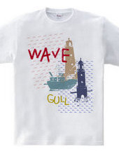 WAVE and GULL