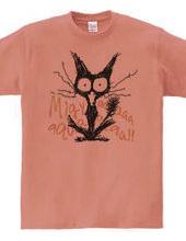 ひっちこくな猫(Migyaa!)カラー文字