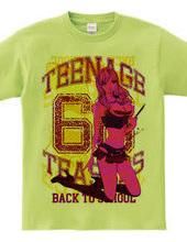 TEENAGE TEASERS 66 SCHOOLGIRL PIN-UP