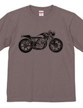浮世絵バイク モノクロver.