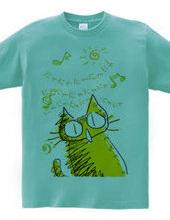 にゃにゃにゃにゃにゃにゃと歌うトラ猫