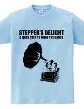 A light step to enjoy the dance