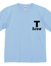 T-shirts love