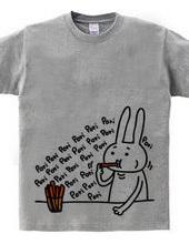 野菜スティック&ウサギ