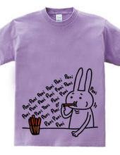 Rabbit and vegetable sticks