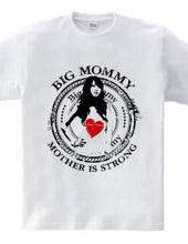 """ビッグマミー""""Big Mommy""""ヴィンテージ風デザイン BLACK Style"""