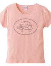 GSPロゴTシャツ