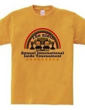 第九回居合道国際大会非公式Tシャツ