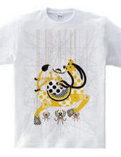 蜘蛛の糸マリオネット木キリンと少女