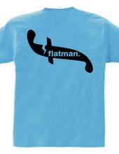 flatman.logo-Back print