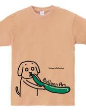 イヌのバルーンアート