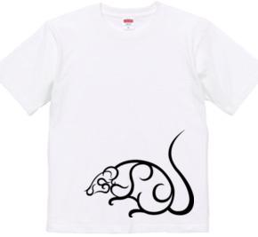 GSPネズミ Tシャツ