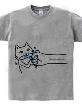 ネコの甘噛み
