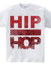 HIPHOP (grunge NY red)