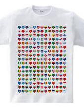 世界平和を願う マークマ世界国旗style