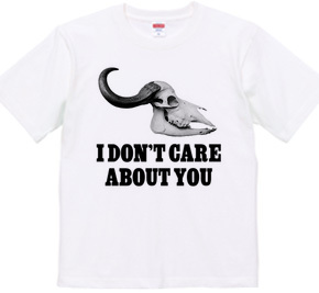i don t care about you