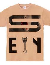 シャツ専用Tシャツ the sexy