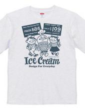 アイスクリームBoy&Girl☆アメリカンレトロ 両面