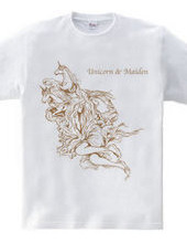 Unicorn & maiden