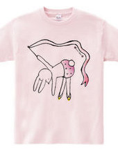 Complete yourself T shirt ~ tulle ~