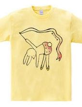 自分で完成させるTシャツ〜チュール〜