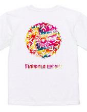 MANDALA WORKS Logo Summer version