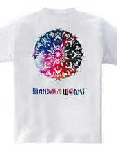 MANDALA WORKS Logo Summer version