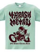 Old School Thrash Metal RED