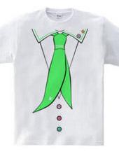 ふんわりネクタイ(緑)