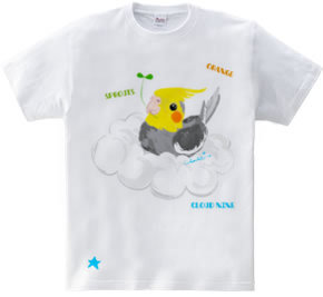 Cloud nine ごきげんオカメインコちゃん