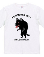 A famished wolf