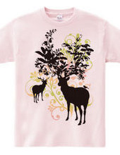 鹿の森 Deer forest