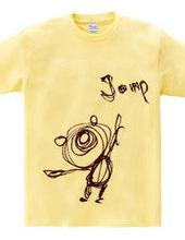 ジャンプ アップ Tシャツ