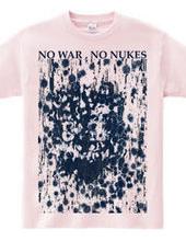 """鬼之図""""NO WAR,NO NUKES"""" otg#2270"""