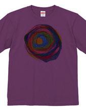 center (of a circle) 1