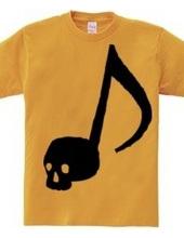 ドクロ音符 ~Skull music notes~シンプル