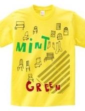 ミントとグリーン