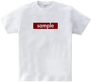 サンプルTシャツ~red~