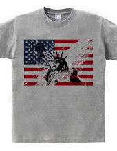 The Statue of Liberty of USA