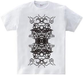 「戦国扇の舞 Black」スピリチュアルデザイン