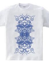 「戦国扇の舞 Blue」スピリチュアルデザイン